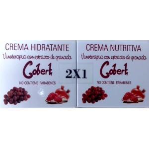 PACK 2 X 1 CREMA NUTRITIVA + CREMA HIDRATANTE GOBERT