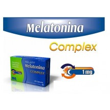 MELATONINA COMPLEX 1 MG. 30 Cápsulas