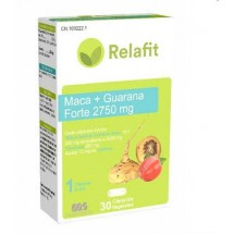 MACA + GUARANA FORTE 2750 mg. RELAFIT