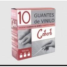 GUANTES DE VINILO C/ 10 U.