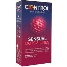 CONTROL ADAPTA SENSUAL DOTS&LINES