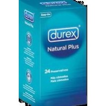 DUREX NATURAL PLUS 24 U.